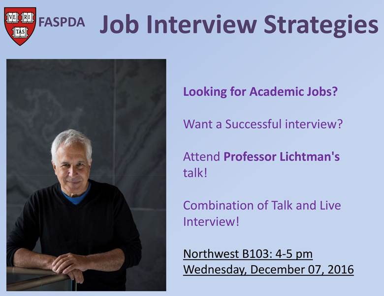 Job Interview Strategies | Faculty of Arts and Sciences ...